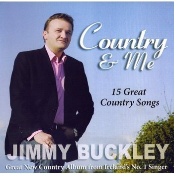 JIMMY BUCKLEY - COUNTRY AND ME (CD)