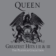 QUEEN - GREATEST HITS 1,2 & 3, THE PLATINUM COLLECTION (CD)...