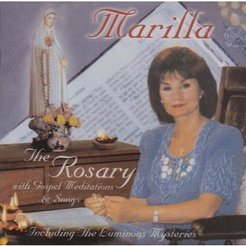 Marilla Ness - The Rosary (with Gospel Meditations & Songs) (CD)