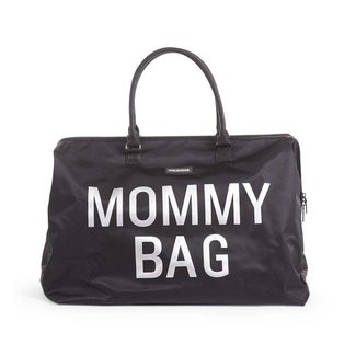 "Childhome Mommy Bag - Verzorgingstas ""Zwart/Zilver""| Childhome"