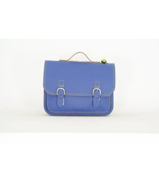 Own Stuff Lederen Boekentas Classic Cobalt | Own Stuff