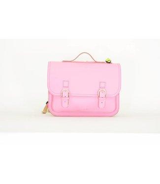 Own Stuff Lederen Boekentas Classic Pink