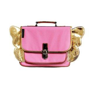 Caramel & Cie. Boekentas Vleugels Roze Mini | Caramel & Cie