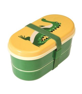 Rex Inter. LUNCHBOX / BROODDOOS BENTO - HARRY THE CROCODILE | REX