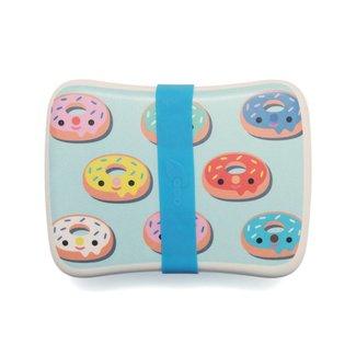 Petit Monkey Lunchbox Bamboo Donuts blue | Petit Monkey