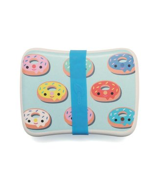 Petit Monkey Lunchbox Bamboo Donuts blue | Petit Monkey