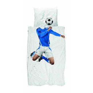 Snurk Dekbedovertrek Voetbal Blauw | Snurk