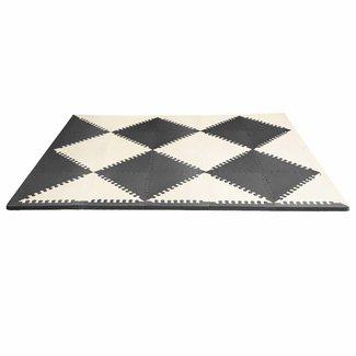 Skip Hop Speelmat foam - Playspot zwart/wit | Skip Hop