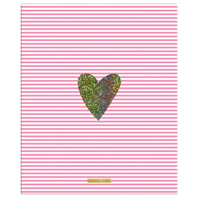 PIP studio Ringmap Pink Heart | Little Diva
