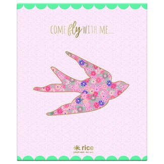 Rice Ringmap Come fly with Me | Rice