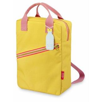 Engel. Rugzak ' Zipper Yellow' Large| Engel.