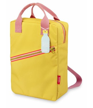 Engel. Rugzak ' Zipper Yellow' Large| Engel.
