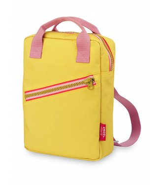 Engel. Rugzak ' Zipper Yellow' Small | Engel.