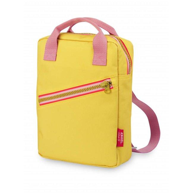 Engel. Rugzak ' Zipper Yellow' Small | Engel.