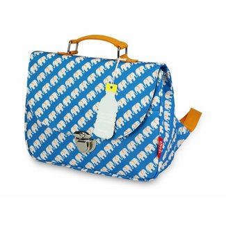 Engel. Schooltas 'Elephant Blue' Small | Engel.