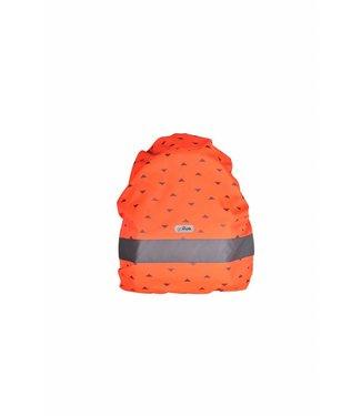 Go Fluo Nell Red orange Rugzak cover | Go Fluo