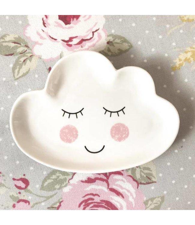 Sass & Belle Slapend wolkje bordje | Sass & Belle