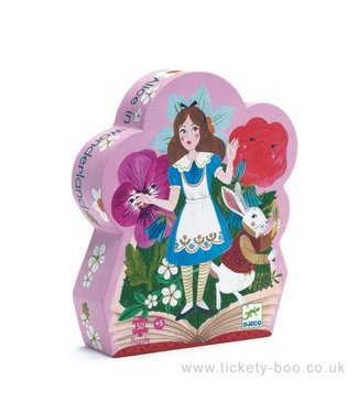 Djeco Puzzel Alice in Wonderland 50 pcs | Djeco
