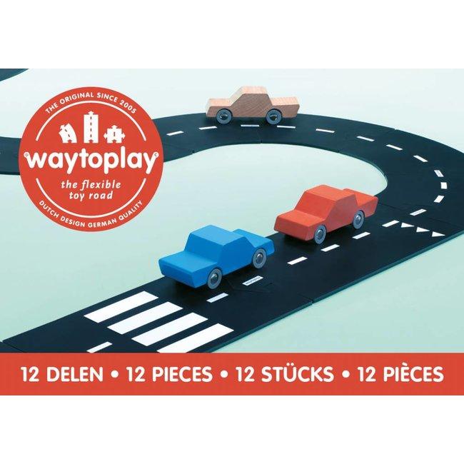 WaytoPlay Autobaan Ringweg (12-delige set) | WaytoPlay