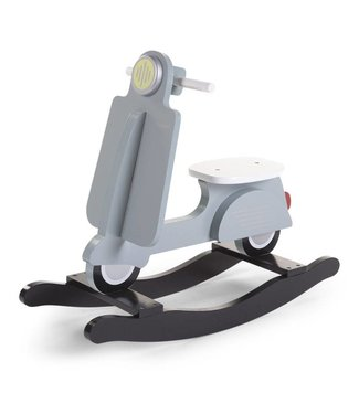 Childhome Schommel Scooter Mint Blauw/Zwart  |  Childhome