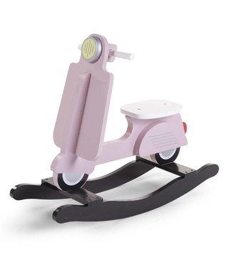 Childhome Schommel Scooter Roze/Zwart  |  Childhome