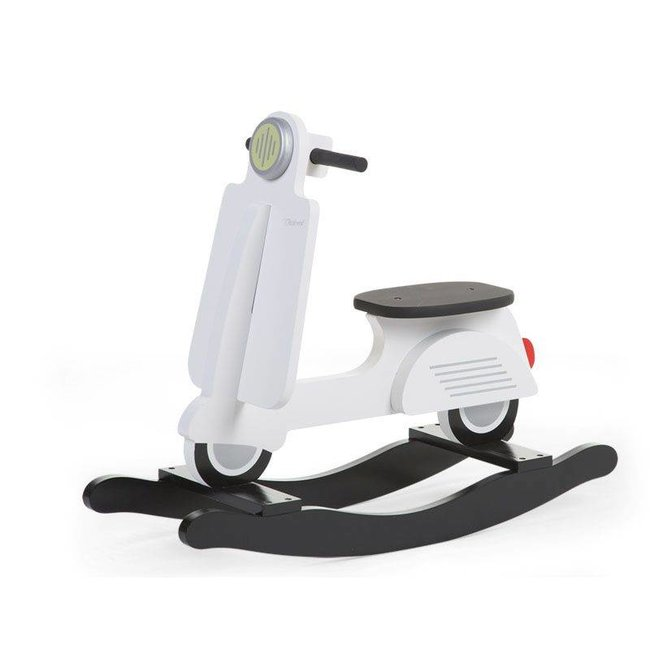 Childhome Schommel Scooter Wit  |  Childhome