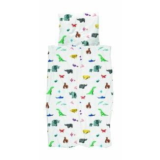 Snurk Dekbedovertrek Paper Zoo | Snurk