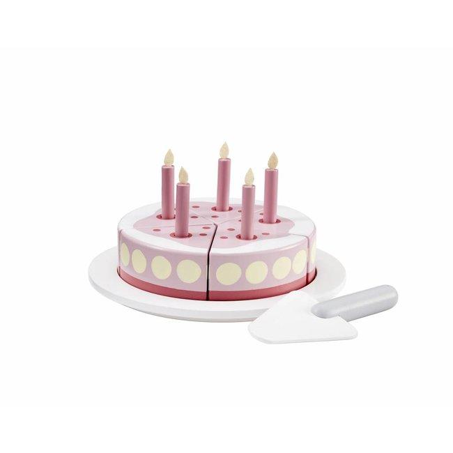 Kid's Concept Houten Verjaardagstaart Roze| Kid's Concept