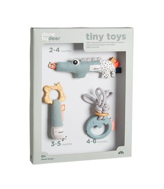 Done by Deer Tiny Toys - Giftset of 3 | Done by Deer