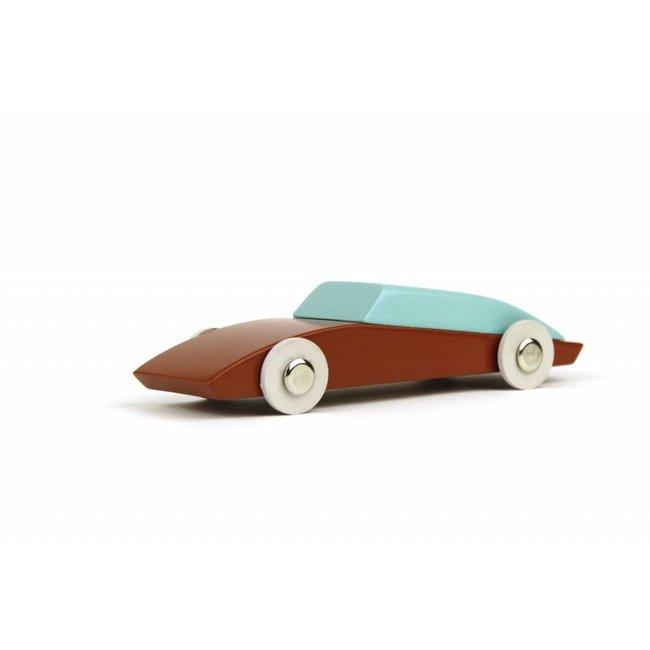 Ikonic Toys Houten autootje #3 | Ikonic Toys