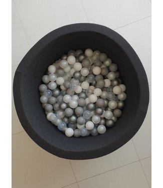 MiiiMi Ballenbad Antraciet  XL + 200 ballen No. 1 | MiiiMi