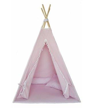 MiiiMi Tipi Tent Pink met vloermatras | Miiimi