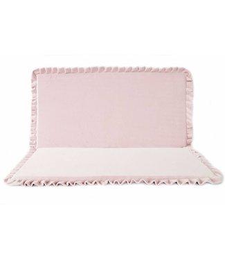 MiiiMi Velvet speelmat Roze 105cm - Vierkant | Miiimi