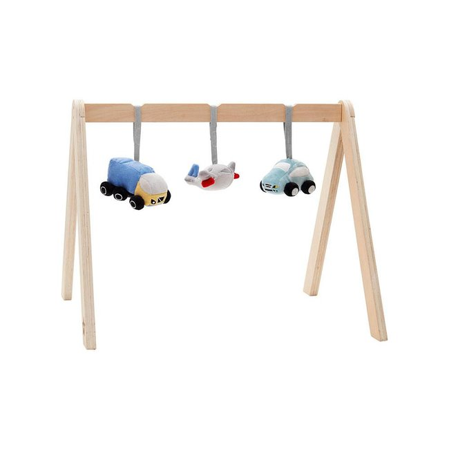 Kid's Concept Baby Gym Speeltjes Voertuigen | Kid's Concept