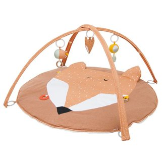 "Trixie Baby Speelmat met bogen Oranje ""Mr Fox"" | Trixie Baby"