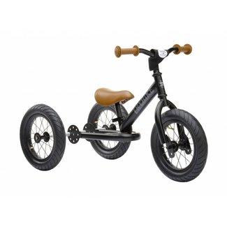 Trybike Trybike  Steel 2-1 loopfiets - Black | Trybike