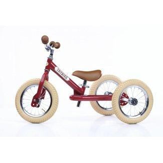 Trybike Trybike  Steel 2-1 loopfiets Vintage Red | Trybike