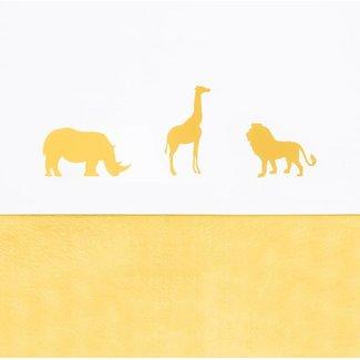 Jollein Laken 120 x 150 cm Safari Oker | Jollein