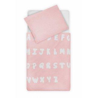 Jollein Dekbed en Sloop 140 x 200 cm Blush Pink| Jollein