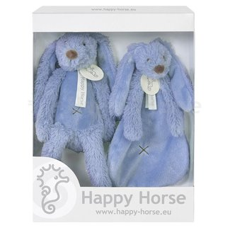 Happy Horse Giftbox Knuffels Konijn Richie Deep  Blue | Happy Horse