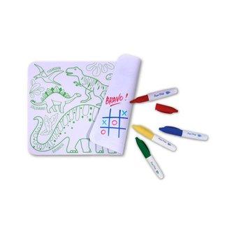 Super Petit Mini Placemat met kleurtjes - Dino  | Super Petit