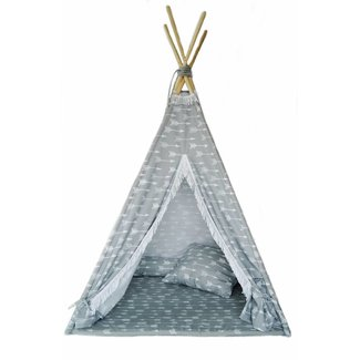MiiiMi Tipi Tent Arrows met vloermatras | Miiimi