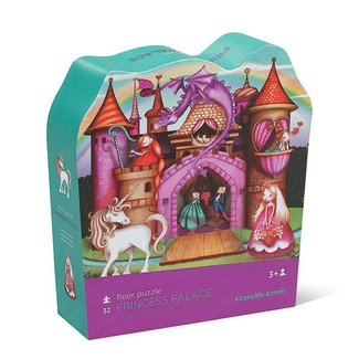 "Crocodile Creek Vloerpuzzel 32st ""Princess Palace"" 