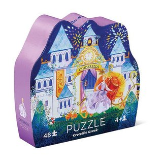 Crocodile Creek Puzzel Cinderella 48 pcs | Crocodile Creek