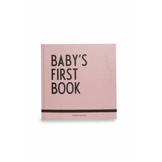 Design Letters Baby's Eerste Boekje Roze | Design Letters