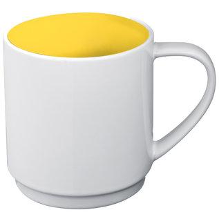 Keramiktasse zweifarbig