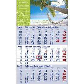 3-Monats-Kalender 3069