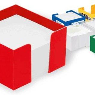 Mini Zettelbox aus  Kunststoff