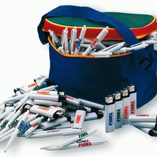 Spar-Set Kugelschreiber + Feuerzeuge