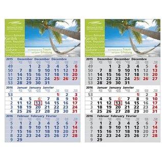 Sparset 3-Monatskalender
